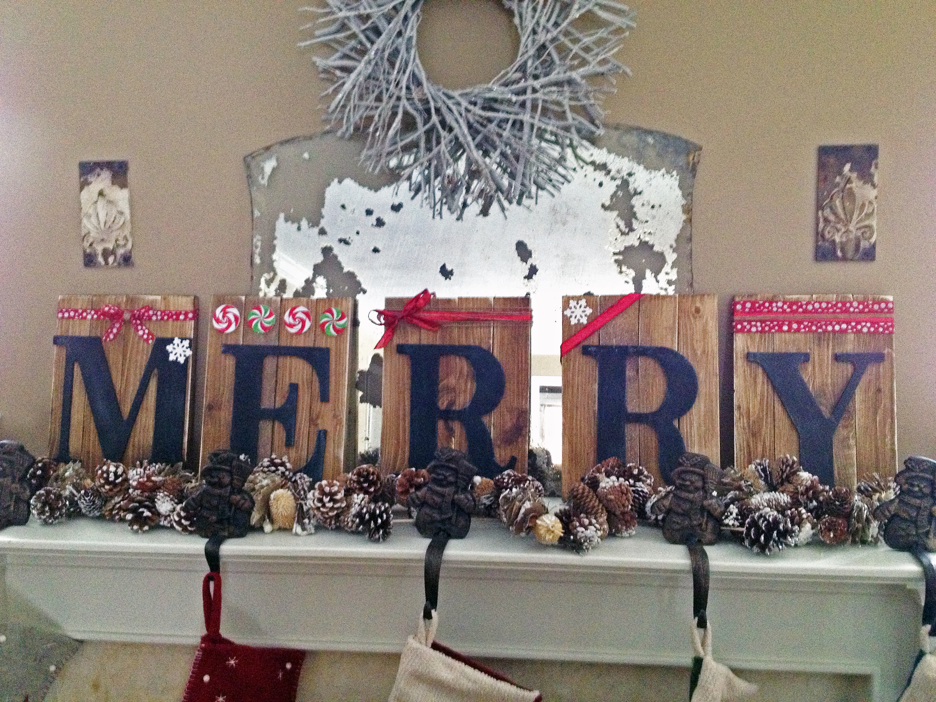 merry - Christmas Decor Signs