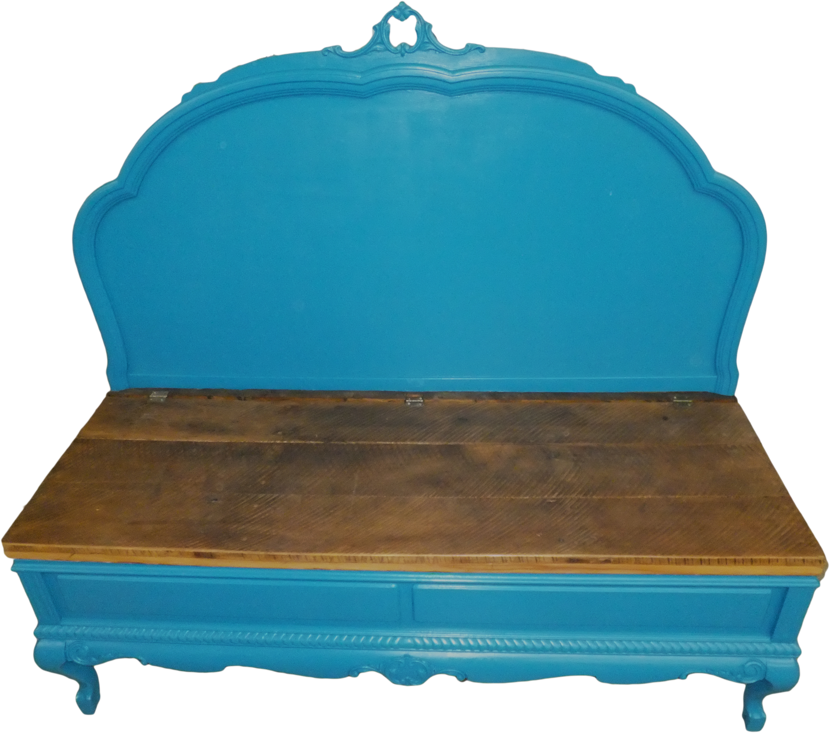 bench color footboard headboard a painted crafty lady that cherry dark the of later similar when and diary to with made from distressed so original we